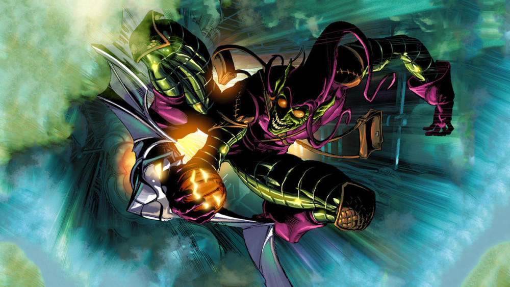 Image result for the green goblin