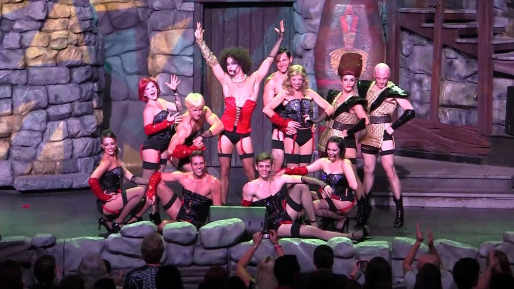 Time warp dance video the rocky horror picture show