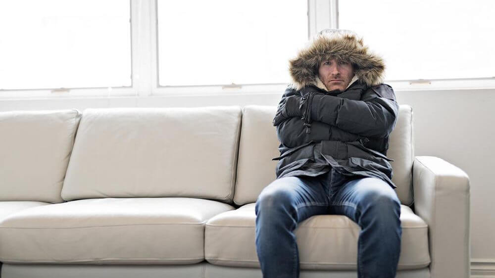 Freezing in Home